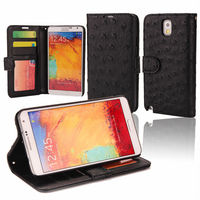 prestige mobile cell leather phone case cases manufacturer card holder for Galaxy Note3/N9000