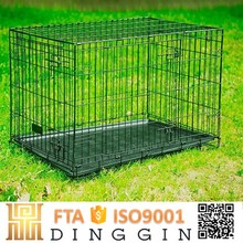 Folding wire mesh dog cage suppliers wholesale