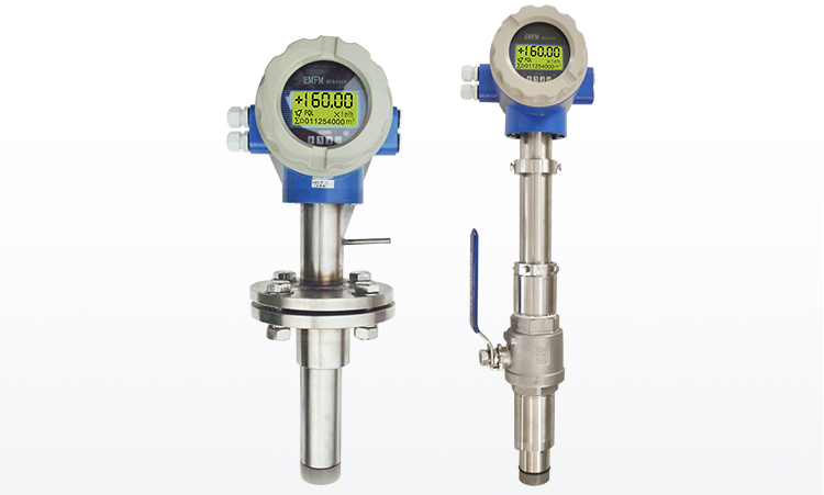 China made insertion type liquid electromagnetic flow meter