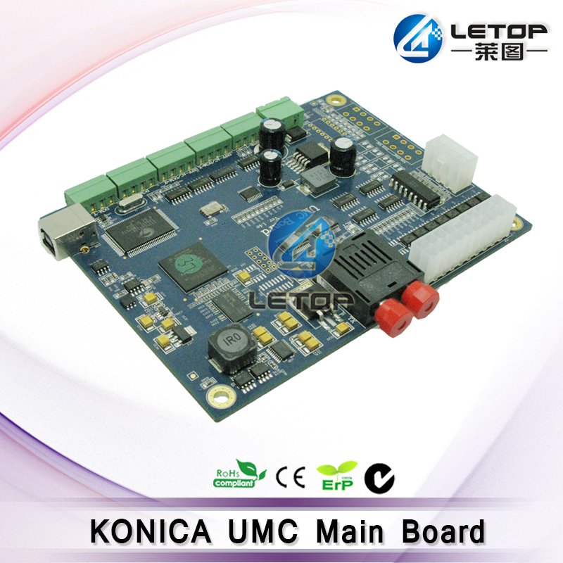 konica umc board ver.1.4d mainboard for jhf solvent printer with 1 pcs head connector