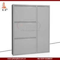 saving space Behind the door Furniture China Supplier metal shoe closed cabinet Eco-friendly High Quality jordan shoe rack