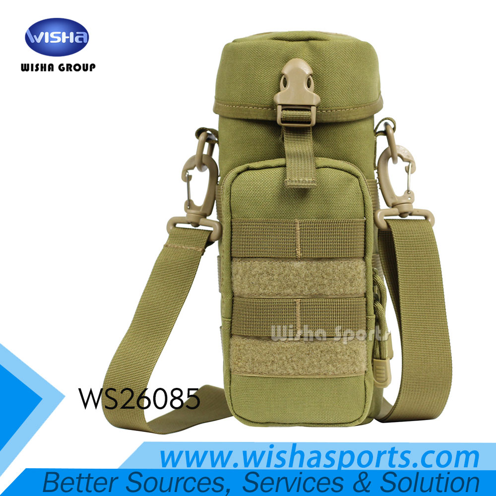2017 Outdoor Tactical Military System Waterproof Nylon Water Bottle Bag for Traveling Climbing Hiking