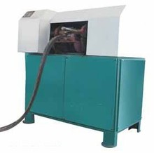 Durable Using horizontal rubber & tyre cutting machine/rubber cutter/cutting press