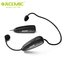 G100 High quality professional mini headset 2.4G wireless microphone for teachers