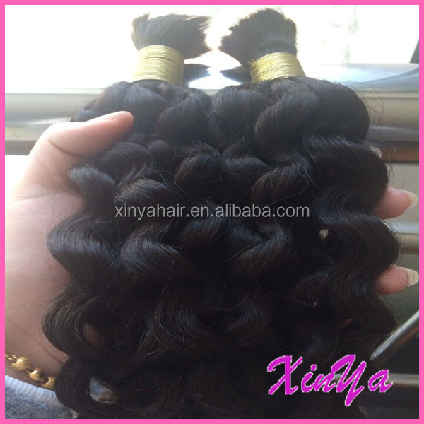 Best Selling 100% Human Virgin Brazilian Hair 7a kinky curly braiding hair