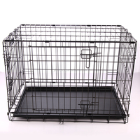 New design large steel dog cage crates
