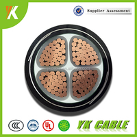 Low voltage 1kv Steel tape armoured cable 4 core 120mm power cable