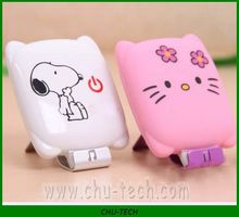 New Design Cartoon Shaped Mini Portable Power Bank/Charger