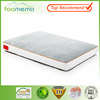 New design Soft touch Memory foam pet mat non slip base with bone shape brown