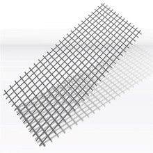 Ribbed steel bar welded mesh steel construction brc fence panels