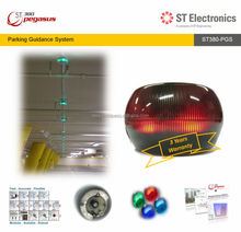 PGS Ultrasonic Carpark Sensor with Integrated Multi Colour LED indicator light - ST380 Pegasus, Singapore