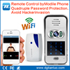 Smart wifi door phone entry video doorbell with camera IOS/ANDROID supporting