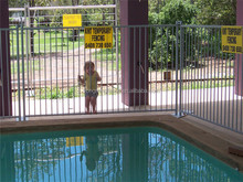 hot dip galvanized pool fence -- Aning Manufacturer