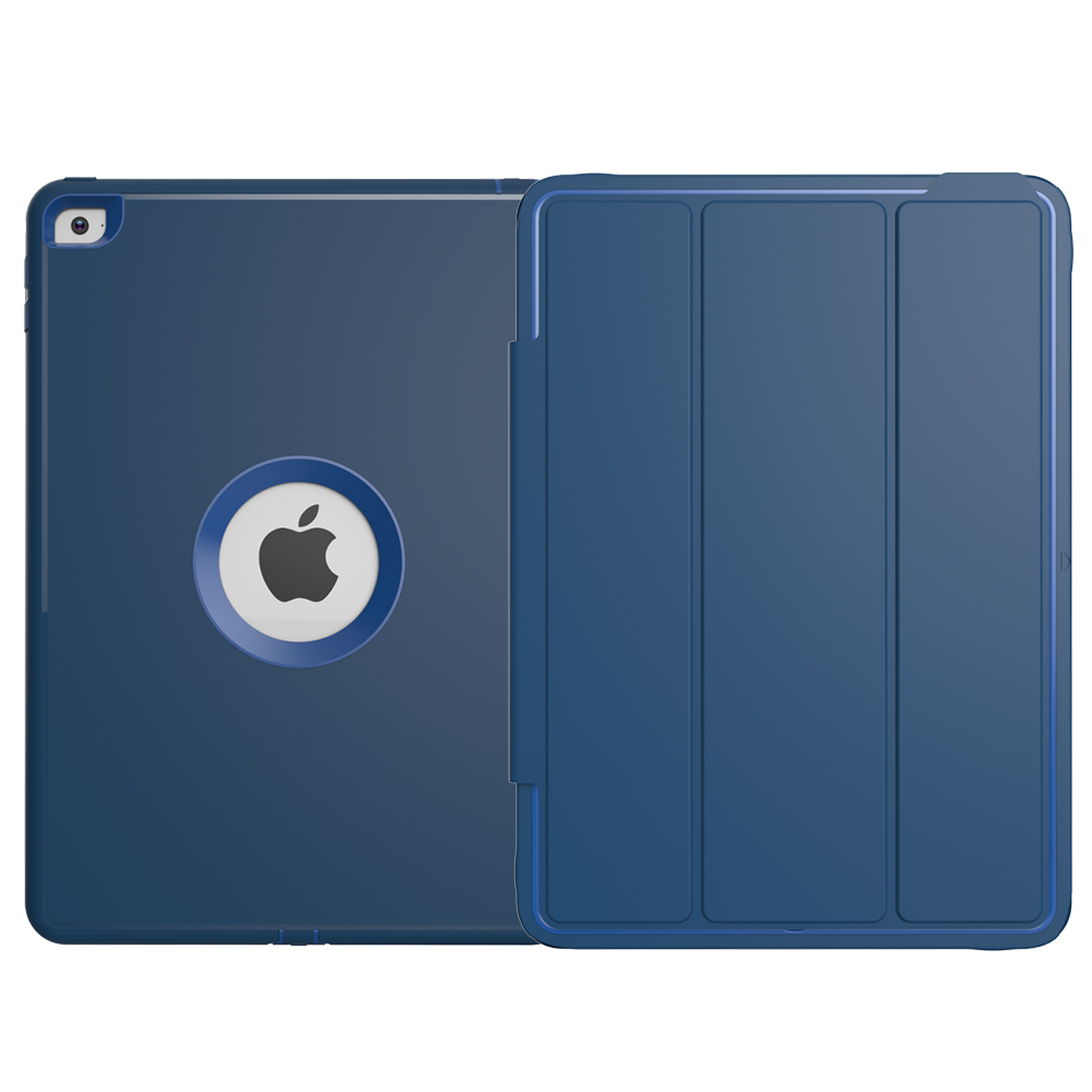 Best Praise Auto Wake Up armor case for ipad air,shock proof case for ipad heavy duty