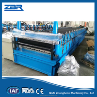 Metal Roofing Sheet of Double Layer Roll Forming Machine