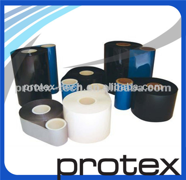 Professional high quality wax/resin barcode ribbon for sticker label