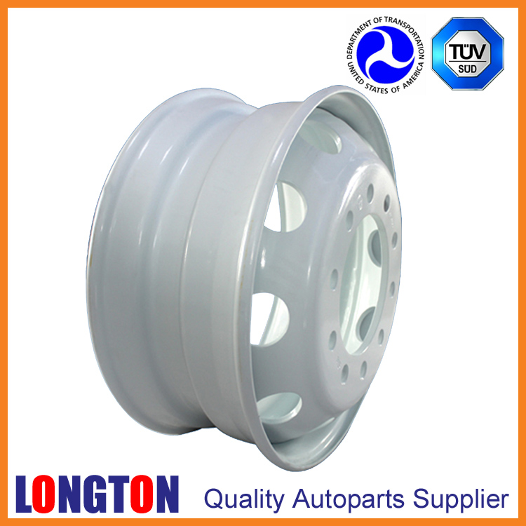 Steel Wheel 22.5x8.25 Tubeless European Type for MB Actros Truck