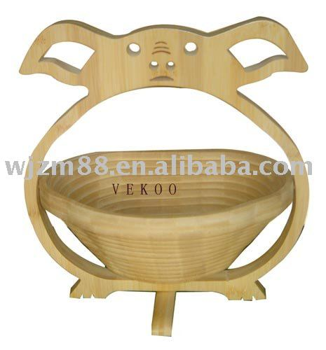Bamboo fruit basket/decoration basket