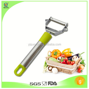 Premium Quality Stainless Steel Julienne Vegetable Peeler/Cutter/Slicer/Zester /Potato peeler/loofah Cucumber stripping device