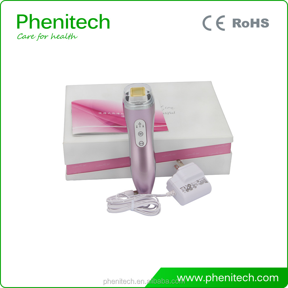Multi-colors Choice Portable Lattice RF Beauty Machine Thermagical RF Device