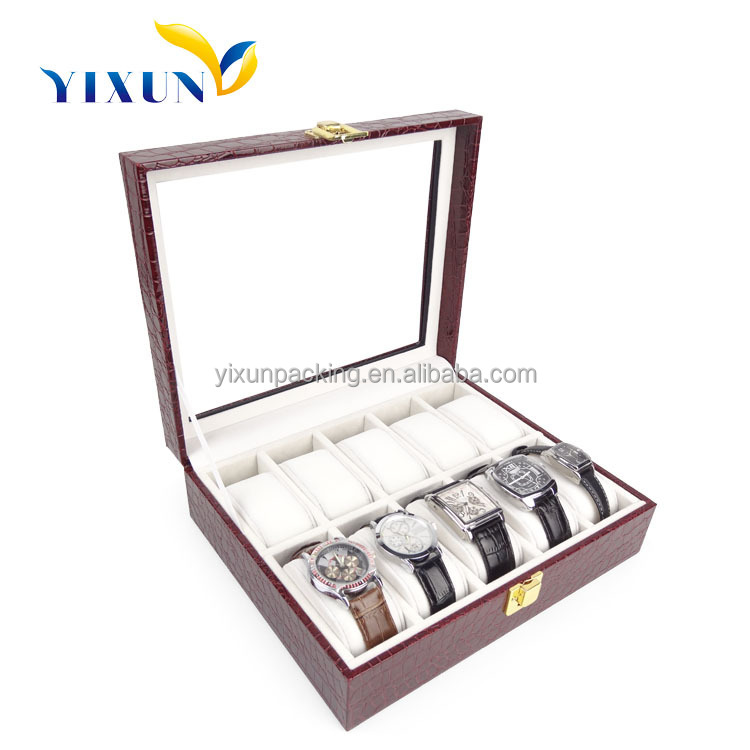 ShenZhen Supplier Recycled wooden watch gift boxes, Wholesale alibaba Box Of Watch