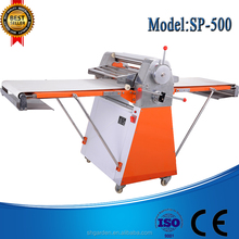 SP-500 dough manual dough table top dough roller sheeter