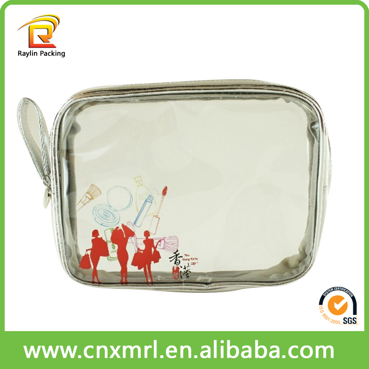 Factory customized promotional silver plastic bags