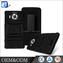 For NOKIA Armour case for NOKIA microsoft Lumia 950 Heavy Duty Kickstand 360 degree Rotating function case