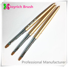 Professional Flat Gel Nail Brush Wholesale Synthetic Hair Brush