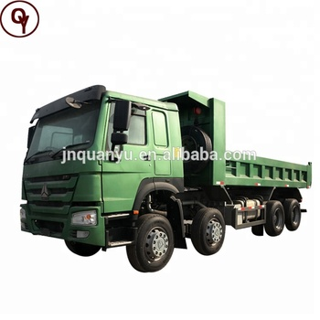 Sinotruk 371HP Howo 8X4 12 tires 40ton sand tipper truck for sale