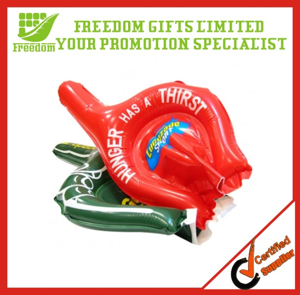 Cheap Promotion Custom Logo PVC Inflatable Hands for Cheering