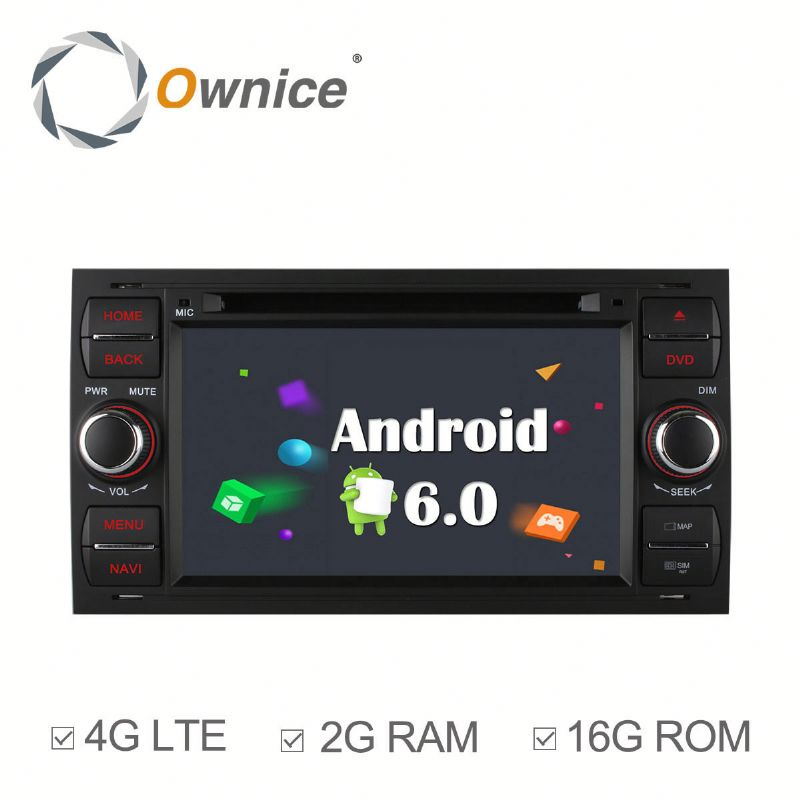 2 din Android Quad core car GPS navi for Ford Old Focus Transit GALAXY with GPS RDS Wifi Built 4G lte support DAB mirror