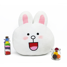 rabbit toy Plush sofa cushion pillow lovely animal stuffed pillows