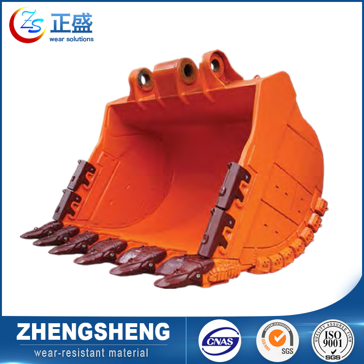Oem wear material construction machinery digging bucket long life excavators