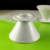 white medium coffee dripper dome barista logo cones extra wide ceramic drip with stand pour over brewing coffee filters