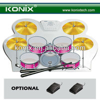 portable alesis drum set for learning recording