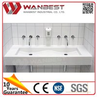 Most popular creative hot sale with cup case above counter wash basin