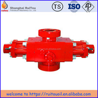 "API 16A 13-5/8""5000psi Manual/Hydraulic Single ram BOP ,forging blow out preventer Equipment for drilling rig"