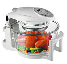 Round halogen portable convection oven in china