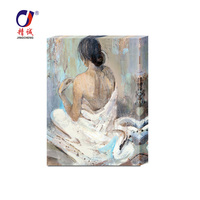 Romantic woman nude canvas oil painting/oil painting/oil painting on canvas