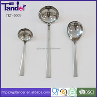 Tander all kinds of stainless steel large soup ladle kitchentools