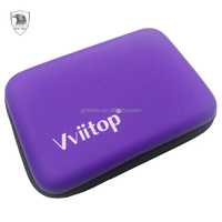 Travel Makeup Case EVA Cosmetic Bag Tool Carrying Cases for Earphone Charge Cable Power Bank, Custom