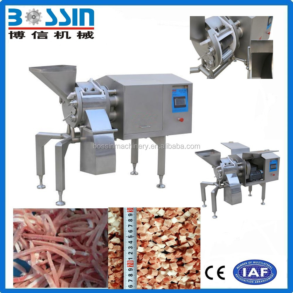 Industrial used cheapest pie cutter meat cube cutter