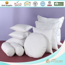 round synthetic pillow