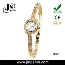 JB021 high quality brass 3ATM water resistant ladies mini watch