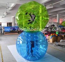 Hot cheap adult size inflatable bubble soccer ball BB25-T