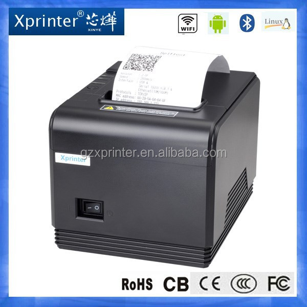 Xprinter Brand 80mm Portable thermal printers a4 for restaurant
