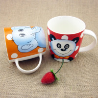 ceramic mug as gifts for smart kids with cartoon printing