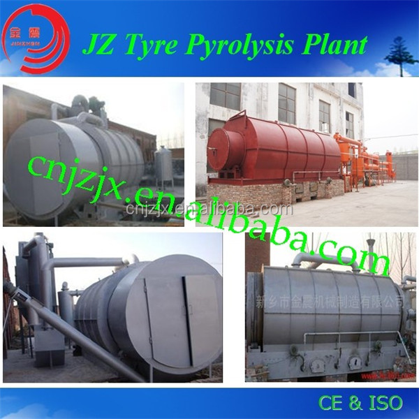 100% Environmental and Hot Sales Used Tyre Recycling Plant to Fuel Oil With Best Services