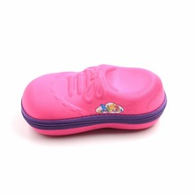 Portable beautiful EVA kids sun glasses case
